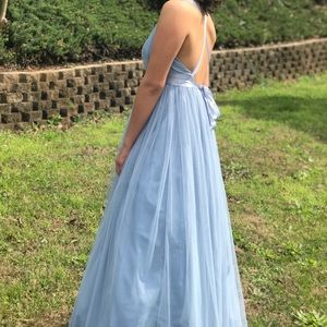 e55cd2c8f5b ASOS Dresses - ASOS premium Tulle Maxi Prom Dress with Ribbon Tie